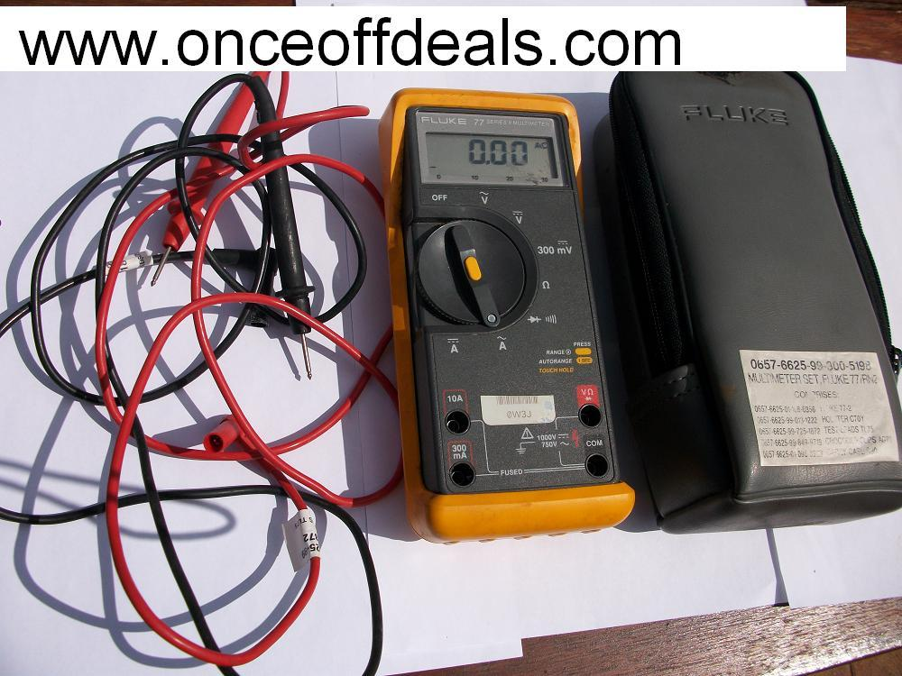 fluke 77 iii multimeter manual